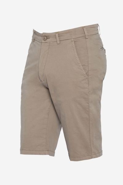 Herren Chino-Shorts beige