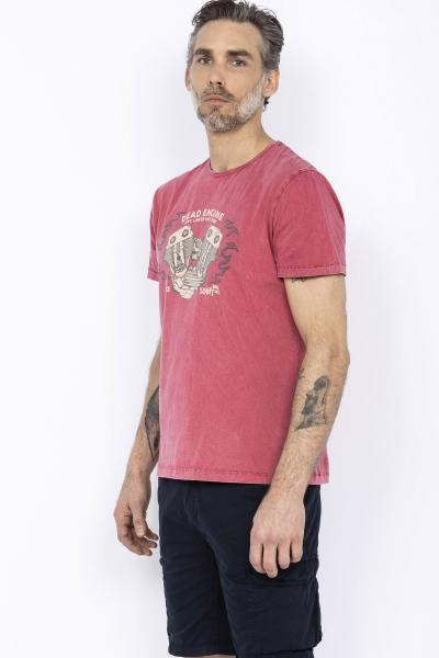 T-shirt rouge dead engine