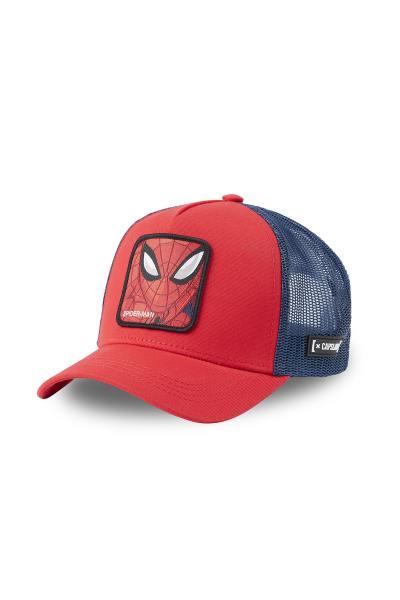 Rote Spiderman-Mütze