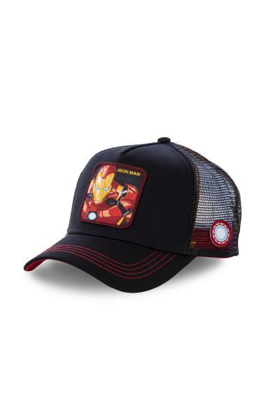 Iron Man schwarze Kappe