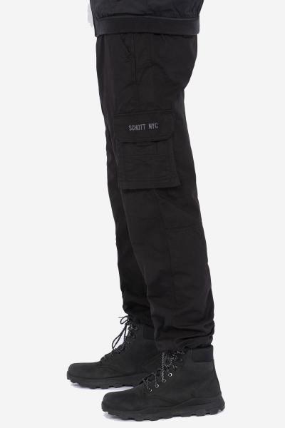 Schwarze Cargohose für Männer