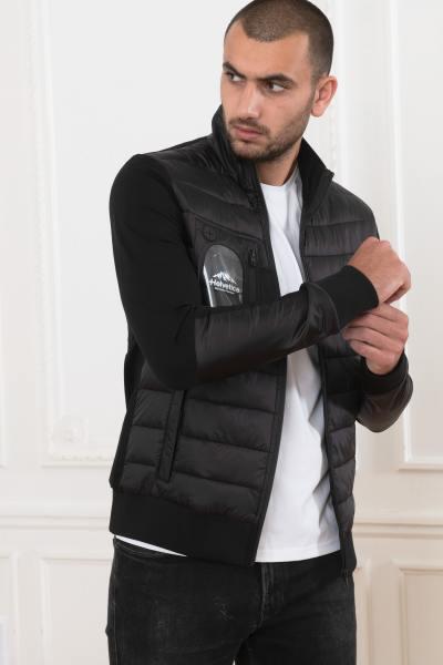 Zweilagige Sportswear-Jacke aus Textil