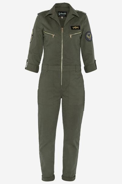 Khaki-Militär-Anzug