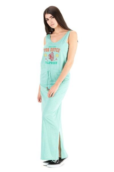 Türkisfarbenes Kleid für Frauen