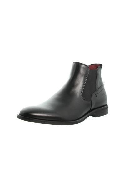 Schwarze Chelsea-Stiefel für Männer