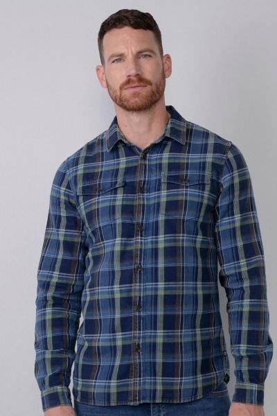 Chemise à carreaux style bucheron