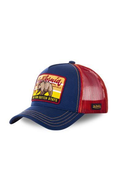 Kalifornien blaue und rote Mütze