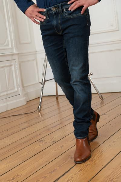 Raw Blue Jeans für Männer