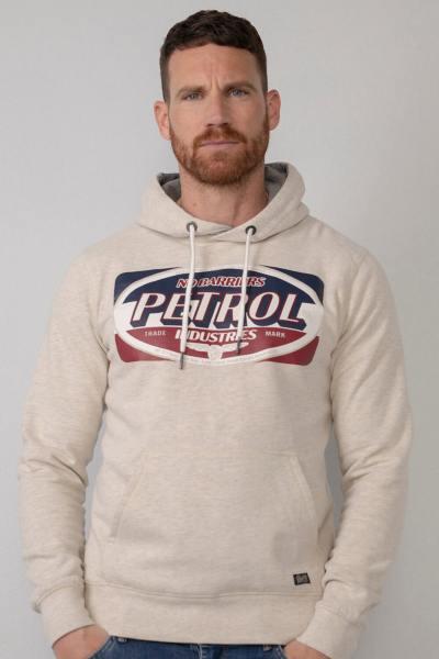 Sweatshirt mit Kapuze und Bauchtasche