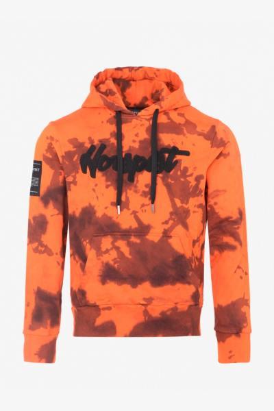 Tarnpullover orange Mann