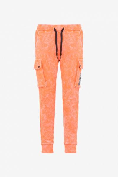 Streetwear-Jogginganzug für Männer orange