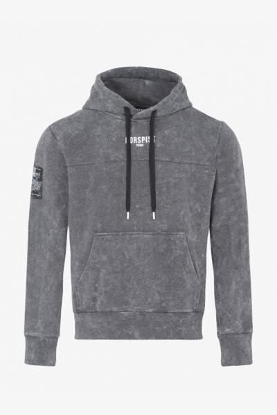 Sweatshirt Streetwear grau meliert