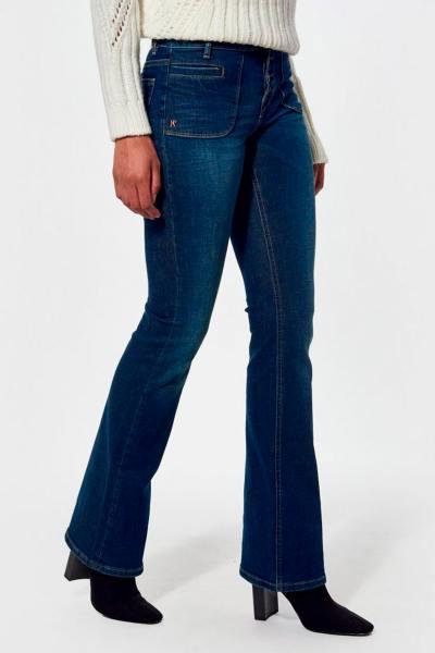 Bootcut-Jeans aus den 70ern