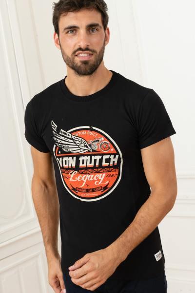 T-shirt Motor Legacy noir