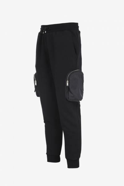 Schwarze Sweatpants aus Baumwolle