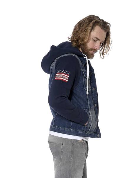 Jacke aus Denim und Baumwolle USA