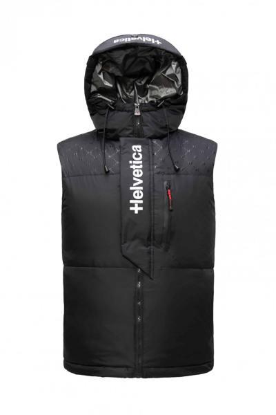 Gepolsterte ärmellose Jacke für den Winter