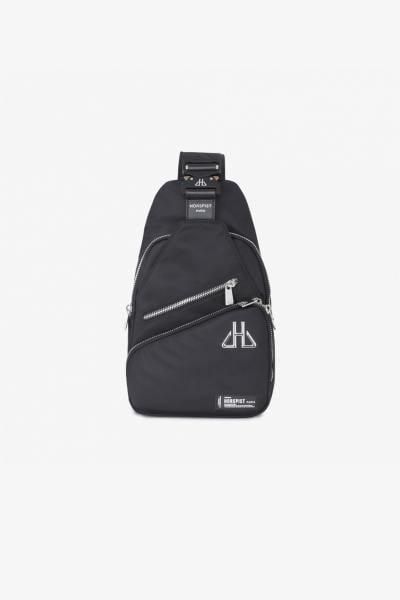 Herren-Multi-Pocket-Tasche schwarz