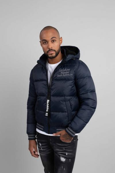 Schwarze Jacke aus 100% Nylon