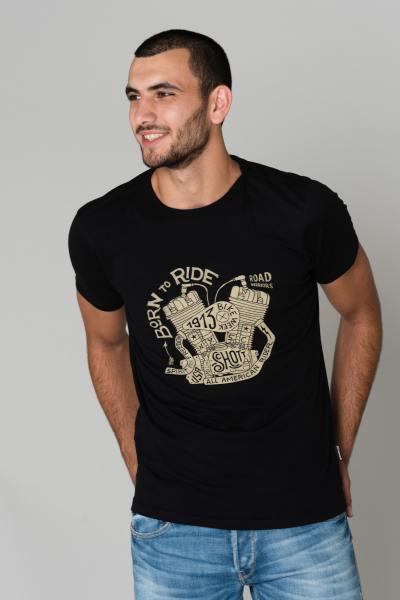 Herren Schott T-Shirt