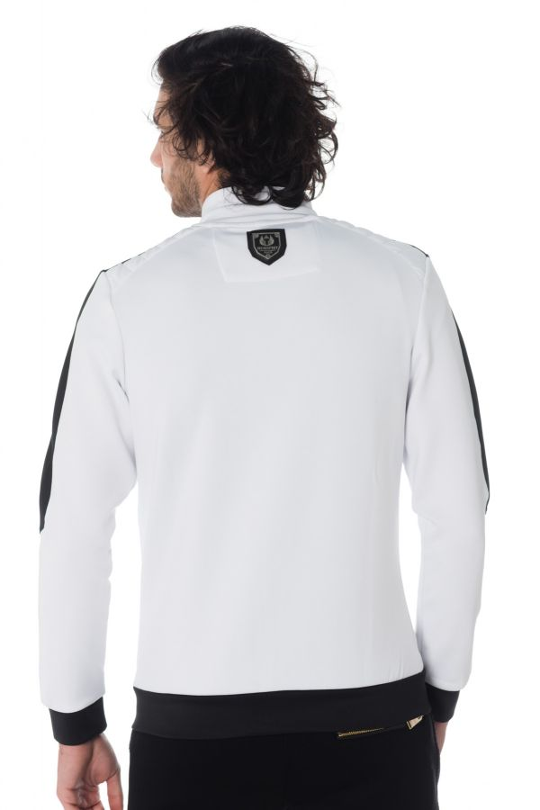 Pull/sweatshirt Homme Horspist STAR M304 WHITE