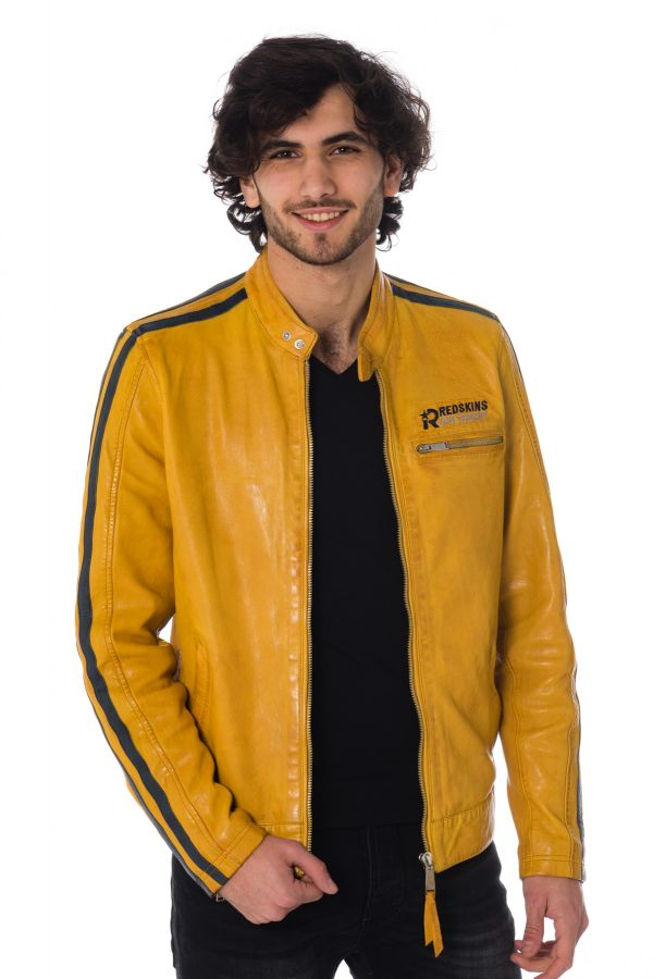 Blouson Homme Redskins CARDIFF EARLEY YELLOW