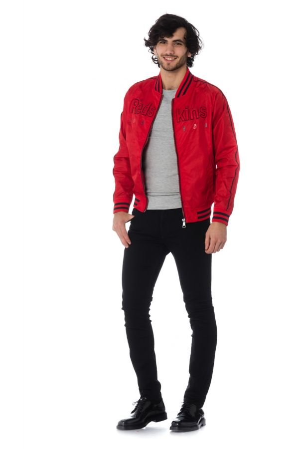 Blouson Homme Redskins TEASE XIAO RED