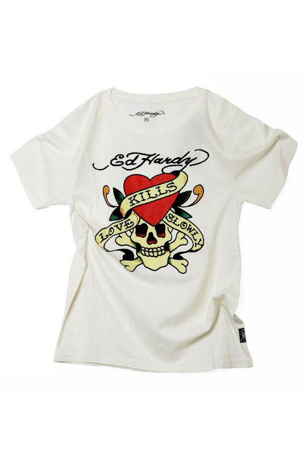 Tee Shirt Homme Ed Hardy TSHIRT DAL BL