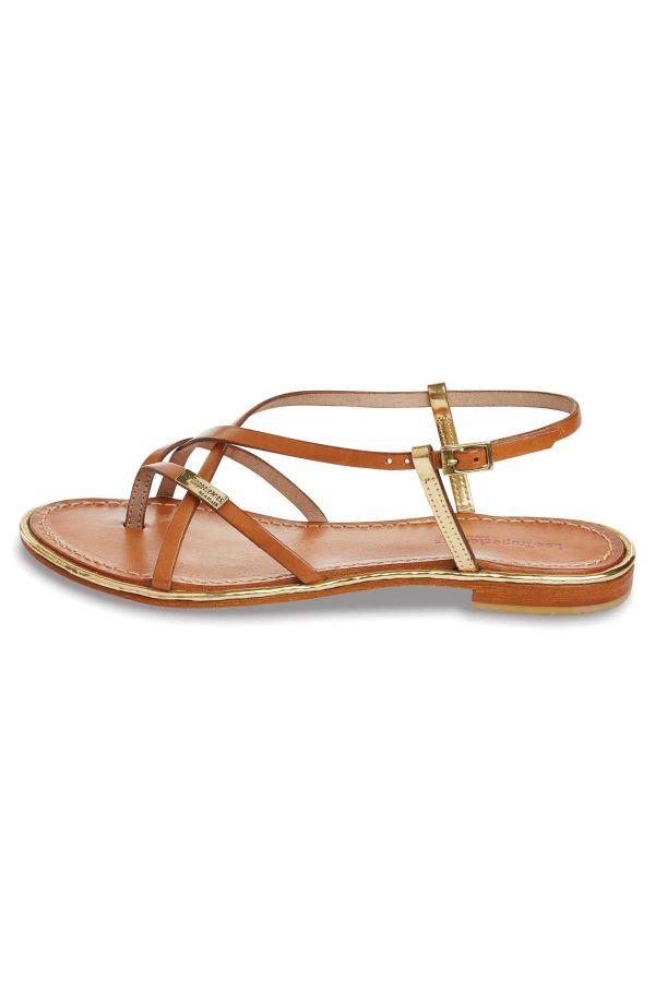 Chaussures Femme Les Tropeziennes Par M Belarbi MONACO TAN OR