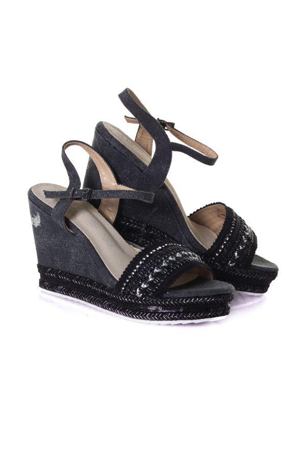 Femme Black Kaporal Shoes Tali Chaussures Cuir dCrsQthx