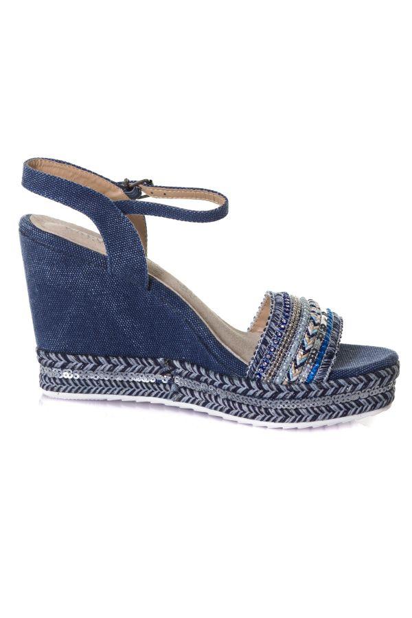 Chaussures Femme Kaporal Shoes TALI BLUE JEAN