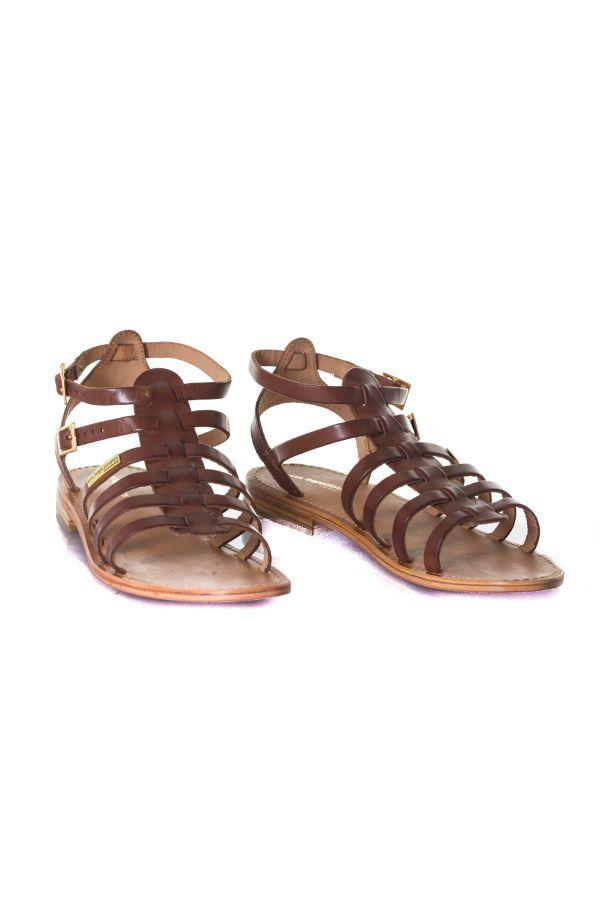 Belarbi Hireca Femme Tropéziennes Chaussures Les Cuir M De Tan qSGzVUMp