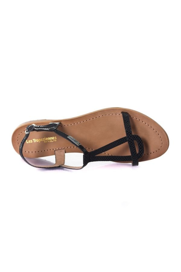 Chaussures Femme Les Tropéziennes de M Belarbi HAMAT NOIR SERPENT
