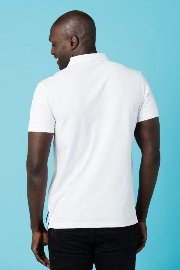 Polo Homme Redskins FOX MEW WHITE