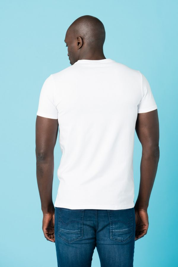 Tee Shirt Homme Redskins UNDEFEATED LIFTED WHITE