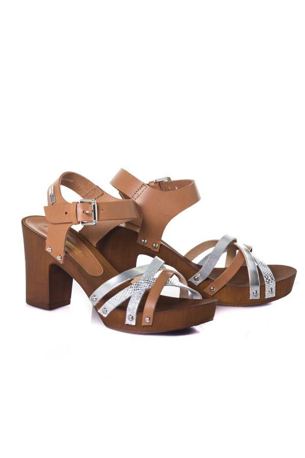 Chaussures Femme Les Tropéziennes de M Belarbi VILINA TAN MULTI