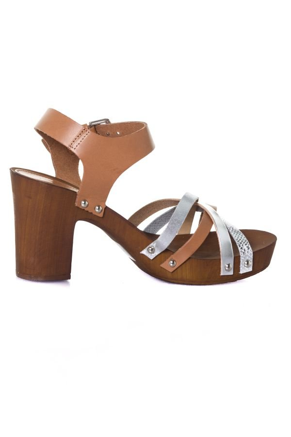 Chaussures Femme Les Tropeziennes Par M Belarbi VILINA TAN MULTI