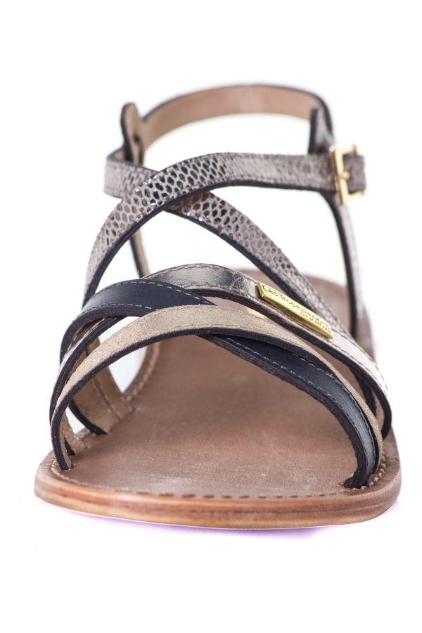 Chaussures Femme Les Tropeziennes Par M Belarbi HAPAX TAUPE/SERPENT