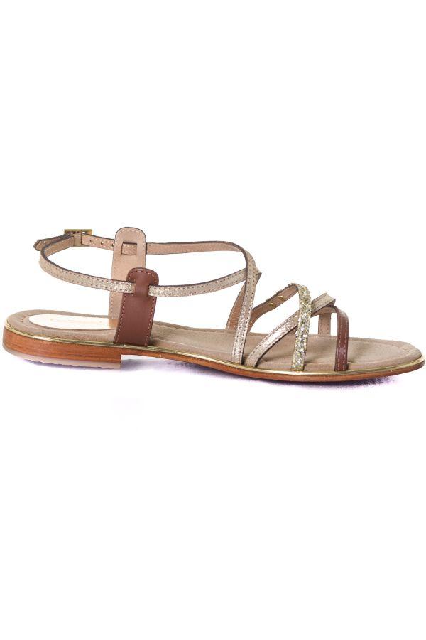 Chaussures Femme Les Tropeziennes Par M Belarbi HARICOT TAN/OR