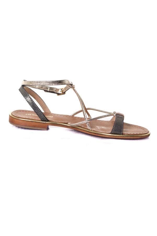 Chaussures Femme Les Tropeziennes Par M Belarbi HIRONDEL NOIR IRISE