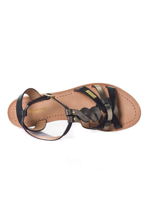 Chaussures Femme Les Tropéziennes de M Belarbi HAMS BLACK MULTI