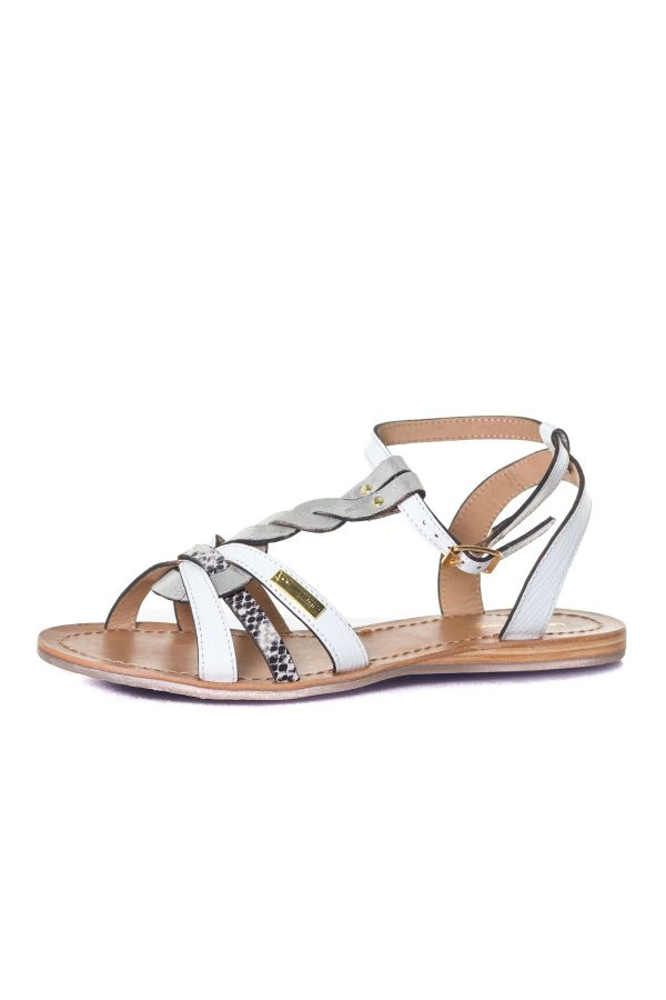 Chaussures Femme Les Tropéziennes de M Belarbi HAMS BLANC MULTI