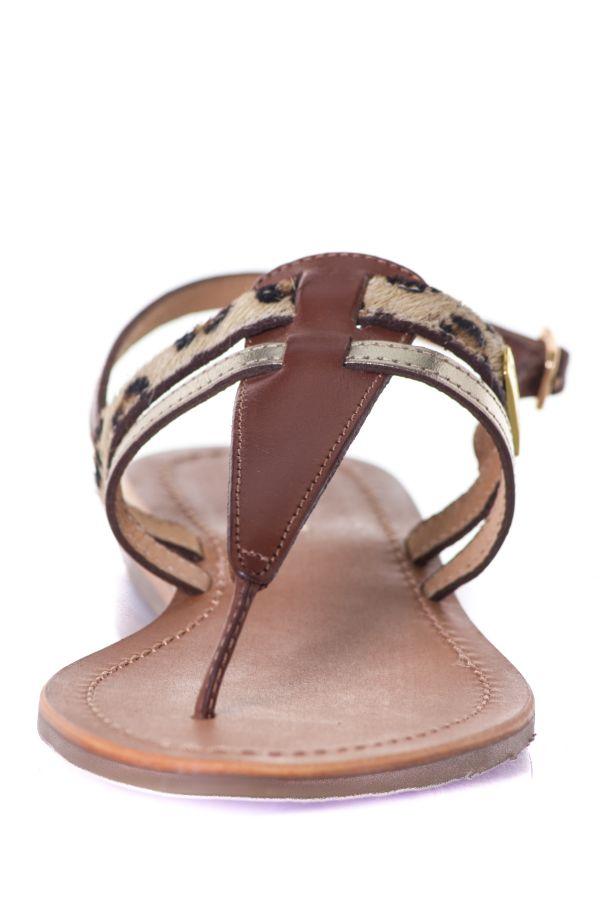 Chaussures Femme Les Tropeziennes Par M Belarbi BARAKA TAN LEOPARD