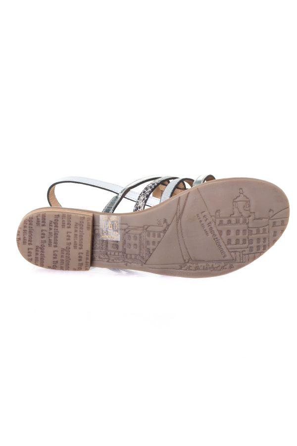 Chaussures Femme Les Tropéziennes de M Belarbi BIANCA BLANC MULTI