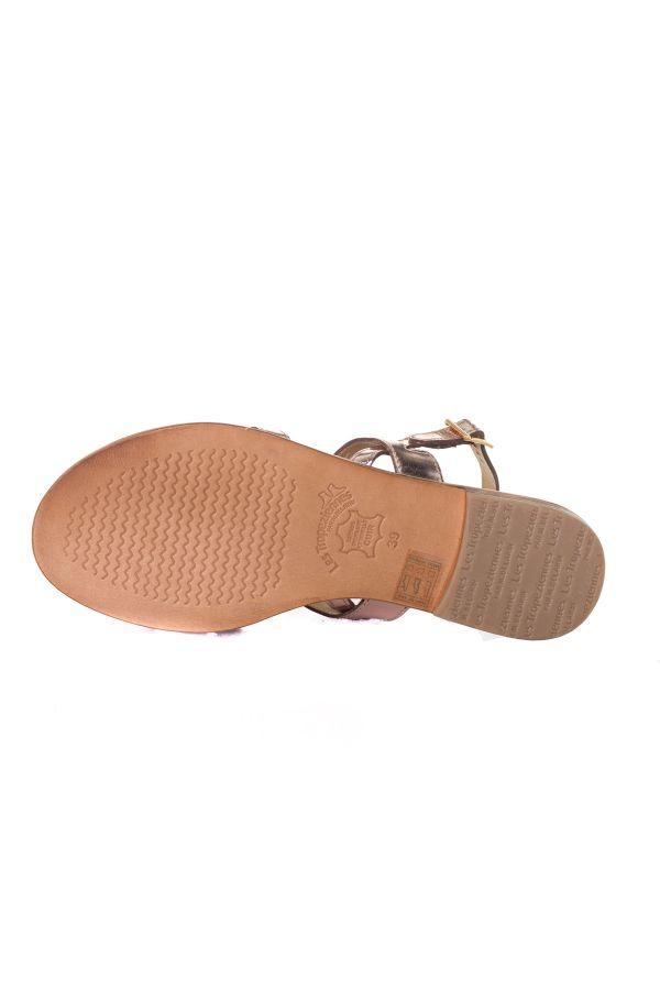 Chaussures Femme Les Tropeziennes Par M Belarbi HELINA ROSE OR