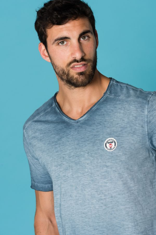 Tee Shirt Homme Kaporal BRUGE BLUE US