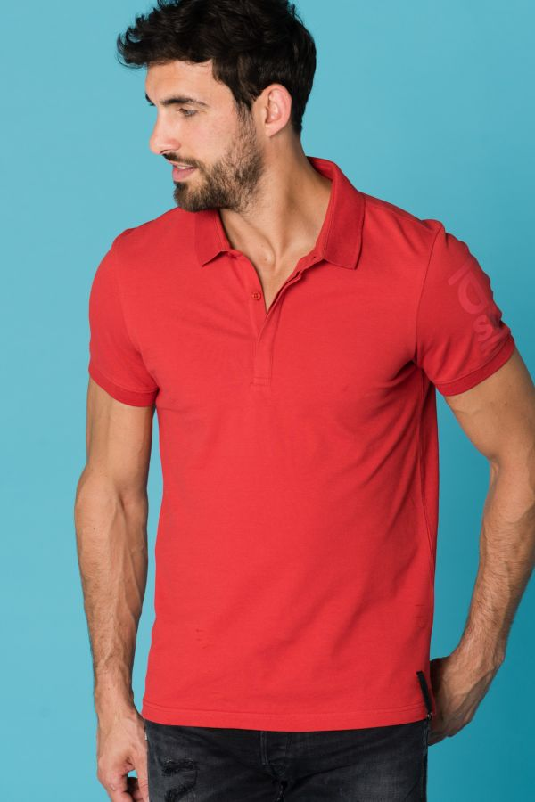 Polo Homme Redskins FOX MEW RED
