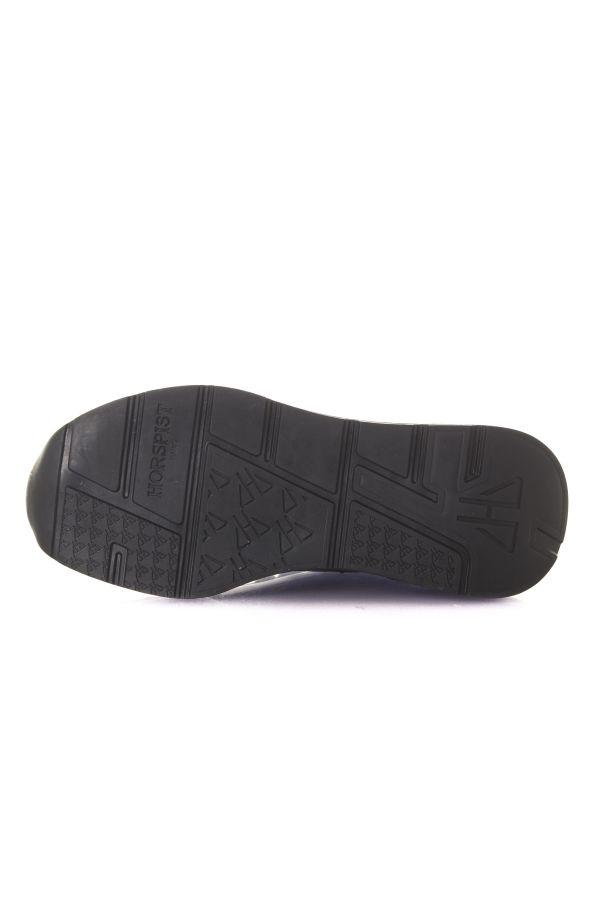 Baskets en cuir Homme horspist CONCORDE FULL BLACK