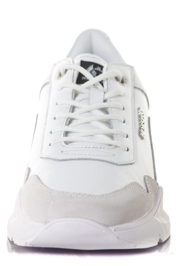 Baskets En Cuir Homme Horspist CONCORDE FULL WHITE