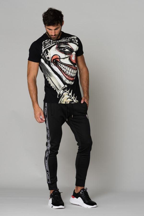 Tee Shirt Homme horspist PIRANA BLACK